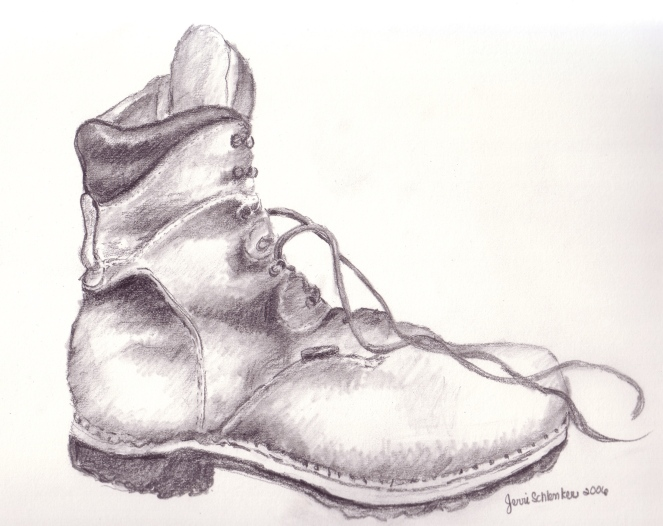 Hiking Boot 1