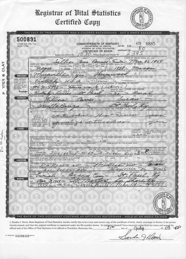 Sally'sDeathCertificate