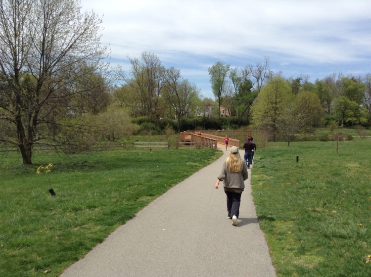 Me, Walking the Trail