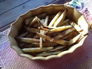 My Own Baked Fries