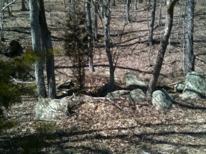 Some big rocks